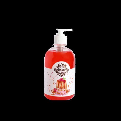 """Жидкое мыло """"Bon Savon"""" Малиновая Панна-котта 0.5л"""