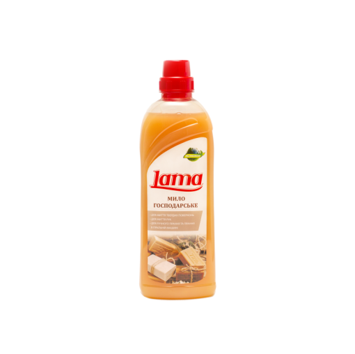 Жидкое хозяйственное мыло «Lama» 1л