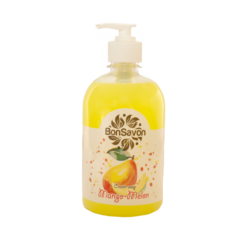 """Жидкое мыло """"Bon Savon"""" Манго & Дыня 0.5л"""