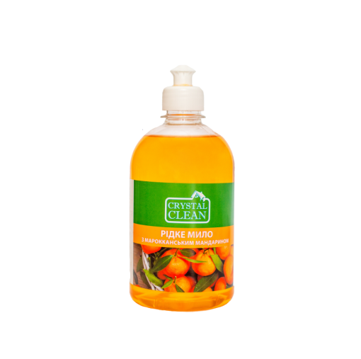 "Жидкое мыло ""Crystal Clean"" Марокканский мандарин 0.5л"