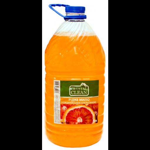 """Жидкое мыло """"Crystal Clean"""" Сицилийский апельсин 5Л"""