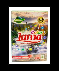 """Стиральный порошок """"Lama"""" Color  Карпатский источник 0.4кг"""